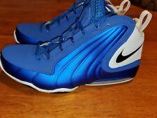 Nike Air Max Wavy Basketball Shoes Game Royal Black White SZ 11