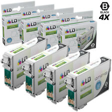 LD© Replacements for Epson T127 4pk HY Black Ink T127120