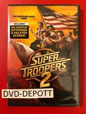 Super Troopers 2 (DVD, 2018) **AUTHENTIC ITEM READ** Brand New FAST Free Shipp