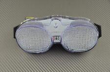 Feu arrière clair clignotant intégré tail light yamaha YZF R6 01 02