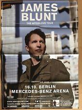 JAMES BLUNT  2017  BERLIN   ++  orig.Concert Poster - Konzert Plakat  A1 F/N