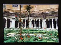 142 ROMA - BASILICA OF ST. PAUL - THE CLOISTER - POSTCARD