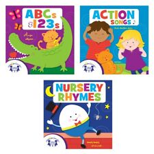 NEW ABCs & 123s, Action Songs, and Nursery Rhymes [Audio CD, 3-discs] Kids Music