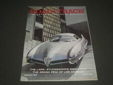 1958 DECEMBER ROAD & TRACK MAGAZINE - GREAT COVER & PHOTOS - K 1015
