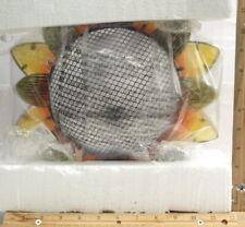 BRAND NEW YANKEE CANDLE GLASS HANGING SUNFLOWER BIRD FEEDER