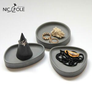 Nicole Cement Tray Silicone Mold Desktop Tidy Orgnizer Handmade Making Tools