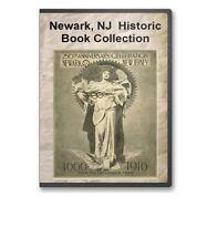Newark, NJ New Jersey History Culture Family Tree Genealogy 19 Book Set - D43