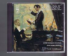 SCRIABINE CD OEUVRES MYSTIQUES POUR PIANO JEAN PIERRE ARMENGAUD