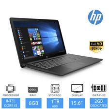 """HP Pavilion 15-cb060sa 15.6"""" Portátil Juegos Intel Core i5-7300hq,8gb RAM 1tb"""