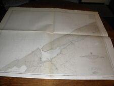 Vintage US Navy Nautical Chart ,NORTH AMERICA-CANADA,NOVA SCOTIA WEST COAST