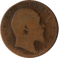 1902 HALF PENNY OF EDWARD VII. / COLLECTIBLE COIN    #WT2593