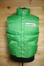 Genuine Swatch Gilet Vest Waistcoat Rare Employee Only L