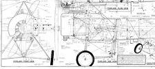 Fokker Eindecker plan 1/4 scale