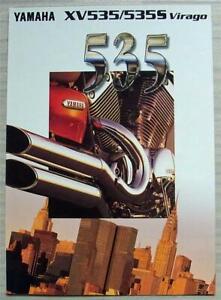 YAMAHA XV535/535S VIRAGO Motorcycles Sales Brochure c1996 #3MC-0107002-96E