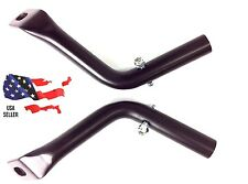 BLACK SADDLEBAG GUARD ELIMINATOR SUPPORT BRACKETS HARLEY ROAD KING GLIDE 93-2008