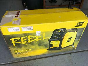 ESAB REBEL EM 215ic (Mig Only) Brand New!