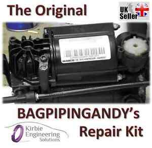 Porsche Cayenne Wabco Air Suspension Compressor Pump Seal Repair Kit
