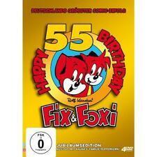 55 Jahre Jubiläums Edition von Fix and Foxi - 4 DVD - Neu / OVP