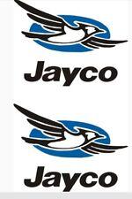 2- Jayco Decal Sticker Rv Popup Trailer Camper Decals Graphic Sticker Logo