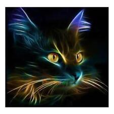 5D Cat Square Diamond Embroidery Painting Cross Stitch DIY Craft Home Decor Gift