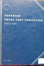 Canada Canadian Small 1c (One) Cent Coins Partial Album