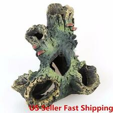 US Aquarium Fish Tank Ornament Rockery Hiding Cave Landscape Underwater Decor