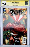 🌟 CGC 9.8 NM+ ZOD #1 SIGNED TERENCE STAMP 3-D ACTION COMICS #23.2 SUPERMAN