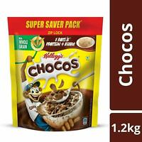 Kellogg's Chocos,High in Protein, B Vitamins, Calcium And Iron,1.2 kg -Free Ship