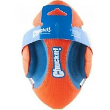CHUCK-IT FUMBLE FETCH DOG TOY  (MED/LG DOGS) ORANGE & BLUE (NEW)