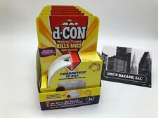 Case of 6 d-CON Mouse Trap, No View, No Touch Covered Mouse Trap