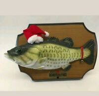 Big Mouth Billy Bass Christmas Singing Fish Gemmy 1999 Jingle Bells vintage