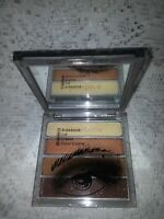 Cargo Essential palette eye Brow Crease Bronze Eye nwob read- case has scuffing