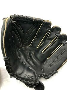 MIZUNO Black Leather 12 In. Baseball Glove - GPP 1203D4 (pre-owned) - RHT