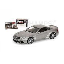 Véhicules miniatures noirs MINICHAMPS pour Mercedes