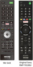 Replaced SONY RMT-TX100U Ver.1 New Remote Control for Sony TVs