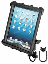 """RAM Handlebar Rail Mount for Large 10"""" Screen Tablets - Fits with OtterBox Case"""