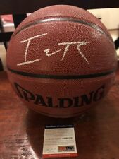 Isaiah Thomas Signed Basketball PSA/DNA Coa Denver Nuggets Cavs Celtics