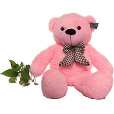 "Joyfay® Pink Giant Teddy Bear 47"" 120cm Stuffed Toy Birthday Gift"