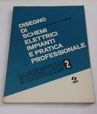 DISEGNO DI SCHEMI ELETTRICI IMPIANTI PRATICA PROFESSIONALE 2 1977 INDICE IN FOTO