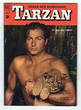 RARE 1951 TARZAN COMIC Vol 1 #22 Dell Comics EDGAR RICE BURROUGHS Lex Barker