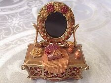 RUCINNI Vanity Photo Picture Frame Crystal Collectible Trinket Box