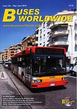 BUSES WORLDWIDE 166 2010 India,La Reunion,Taipei,Vancouver,Victoria,Den Oudsten