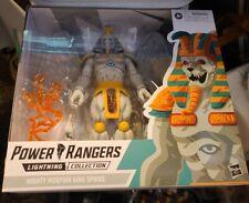 KING SPHINX Power Rangers Lightning Collection BNIB