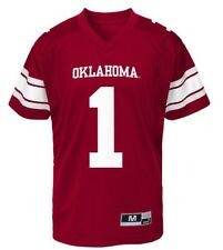 New NWT Oklahoma Sooners Jersey #1 Youth Boys Size L Large 14/16
