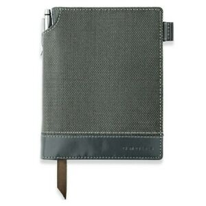 Textured Journal Small A6 Grey