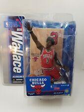 Ben Wallace #3 Chicago Bull NBA Series 12 Action Figure McFarlane Toys