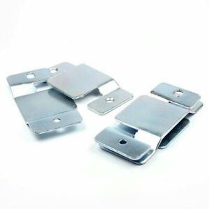 4 xMetal Corner Sofa Beds Interlocking Connecting Connector Clips Brackets Plate