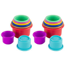 8pc Lamaze Pile & Play Plastic Stacking Cups Educational Baby/toddler 6m Toy