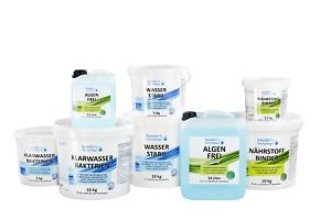 Für Teiche bis 250 m³ -Teichpflege Set für Ihren Gartenteich - Saison-Start-Set