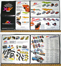"Lg. 14x27"" 1982 Aurora AFX Model Motoring CAR & ACCESSORY Slot Car Catalog #9016"